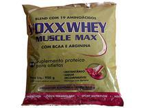 Whey Protein Voxx Whey Muscle Morango-Banana 900g - Cimed