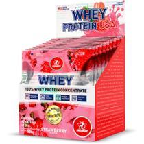 Whey usa - 10 sachets strawberry midway -