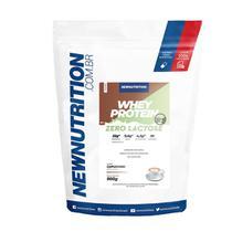 Whey Zero Lactose All Natural - 900g Cappuccino - NewNutrition -