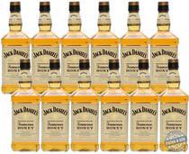 Whiskey Jack Daniels Honey Kit 12 x 375ml - (Total 4,5 LITROS) -