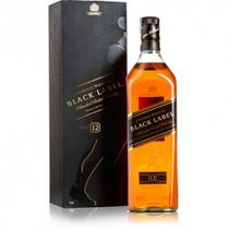 Whisky Escocês Johnnie Walker Black Label 1000ml.
