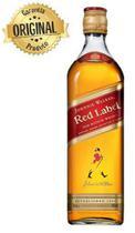 Whisky Escocês Johnnie Walker Red Label Garrafa 1 litro -