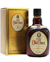 Whisky Escocês Old Parr 12 anos 1000ml.
