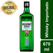 Whisky Escocês Scotch Garrafa 670ml - Passport