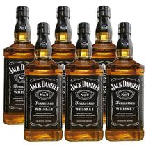 Whisky Jack Daniels Tennessee 1 Litro 06 Unidades