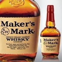 Whisky Maker's Mark Bourbon 750ml - Markers mark