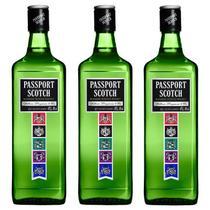 Whisky Passport Scotch 1 Lt  03 Unidades -
