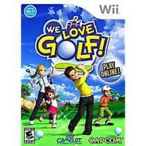Wii We Love Golf - Capcom