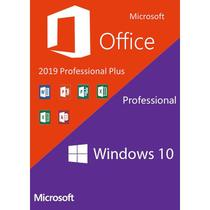 Windows 10 Pro Office 2019 Pro Plus kit combo - Azure