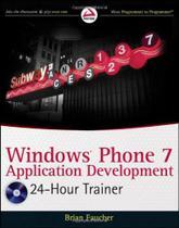 Windows phone 7 application development - John Wiley Trade
