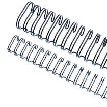 Wire-o para Encadernação 2x1 A4 Preto 1 1/4 até 270fls 25un - Marpax