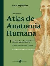 Wolf-Heidegger - Atlas de anatomia humana + Marca Página - Grupo Gen