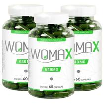 Womax  640mg 60 CPS Kit Com 3 - Pandora
