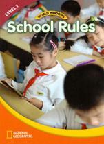 World windows 1 - school rules – student's book - Cengage / elt -