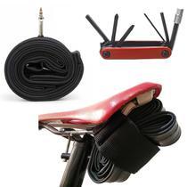 Wrap Fita Bike Ciclismo + Kit Chaves + Câmara de Ar Aro 29 Bico Fino - Tiochicoshop