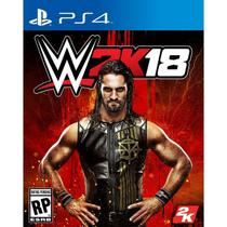 Wwe 2K18 - Ps4 - Sony