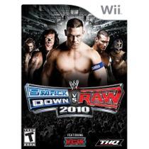 Wwe Smackdown Vs. Raw 2010 Nintendo Wii Game Luta Thq -