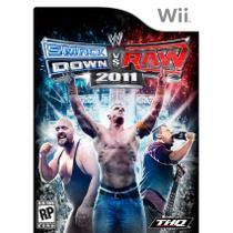Wwe Smackdown Vs. Raw 2011 Nintendo Wii Game Luta Thq -