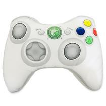 X-Pillow Box 360: Almofada Geek Gamer Formato Controle Video Game Xbox 360 Branco - Camaleão preto