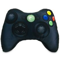 X-Pillow Box 360: Almofada Geek Gamer Formato Controle Video Game Xbox 360 Preto - Camaleão preto