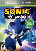 Xbox 360 Sonic Unleashed - Sega