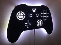 Xbox Controle em mdf luminoso com luz de led - J & R Personalização Em Mdf