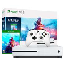 Xbox One 1 TB Versão S + Controle + Jogo Battlefield V - Microsoft