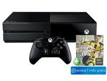 Xbox One 500GB Microsoft 1 Controle - Jogo Fifa 17 + 1 Mês de EA Access