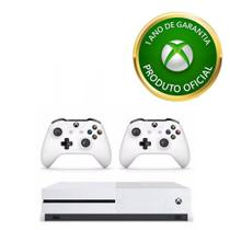 Xbox One S 1TB com 2 controles + Live Gold + Gamepass - Microsoft