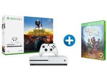 Xbox One S 1TB Microsoft 1 Controle com 1 Jogo - via Download + The Book of Unwritten Tales 2