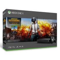 Xbox One X - 1 Terabyte + Jogo Battlegrounds - Microsoft