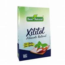 Xilitol Adoçante Natural sem gluten sem lactose 100g Bem Natural -
