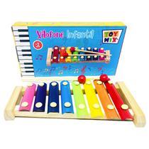 Xilofone Infantil Brinquedo Musical Diferente Com 8 Notas - Toy Mix