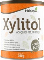 Xylitol 300 g - Adoçante natural em pó - Melcoprol -