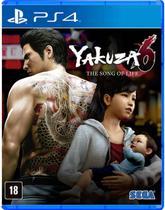 Yakuza 6 - The Song Of Life - PS4 - Sega