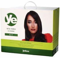 Yellow New Form Kit Relaxamento De Guanidina De 1,8kg - Yellow Cosmeticos