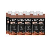 Yo Pro Bebida láctea Sabor Chocolate 250 ml cada kit com 10 Unidades - Danone