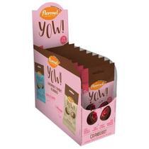 Yow de Cranberry Flormel - 8un 40g -