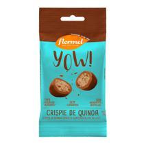 YOW de Crispie de Quinoa coberto com Chocolate ao Leite (40g) -  Flormel -