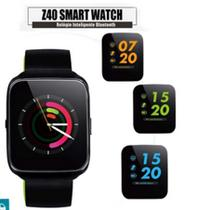 Z40 Relógio Smartwatch Android, Notificações Whatsapp, Bluetooth, Camera Preto - Smart watch