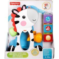 Zebra Blocos Surpresa Fisher Price CGN63 - Mattel -