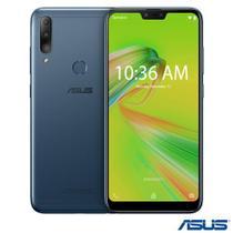"Zenfone Max Shot Azul Asus, com Tela de 6,2"", 4 GB, 64 GB e Câmera Tripla de 12MP + 5MP + 8MP - ZB634KL-4D008BR -"