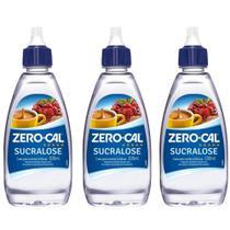 Zero Cal Sucralose AdoÇAnte LÍQuido 100ml (Kit C/03) -