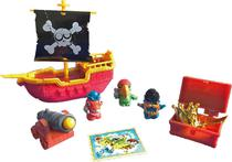Zomlings Playset Navio Pirata - Fun