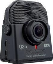 Zoom HD Action Camera Câmera de Ação Preto-Q2N-4K -