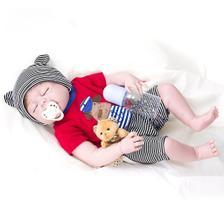 17491903e Bebê Reborn Menino Arthur Corpo Inteiro Silicone Pode Dar Banho ...