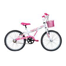 647a23656 Bicicleta infantil Caloi Sweet Aro 20 Feminina Branca 2018 ...