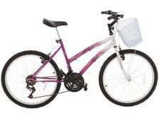 ebb56a02d Bicicleta Infantil Aro 24 Colli Bike Allegra City - 21 Marchas Pink ...