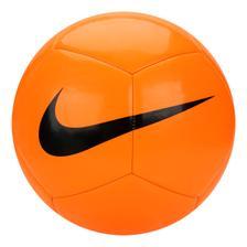 58485d025dc21 Kit Bola Futebol Campo Nike Pitch Team SC3166 Branco Preto + Squeeze ...