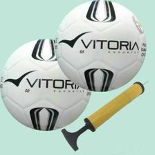 b7d10ebf40 3 Bolas Futsal Vitoria Oficial Prata Max 100 Mirim Sub 11 - Vitoria ...